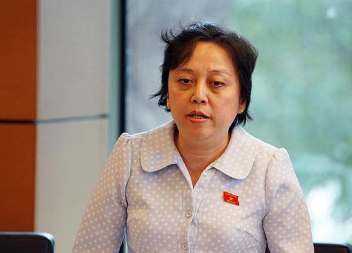 Đại biểu Nguyễn Khánh Phong Lan, đoàn TP.HCM