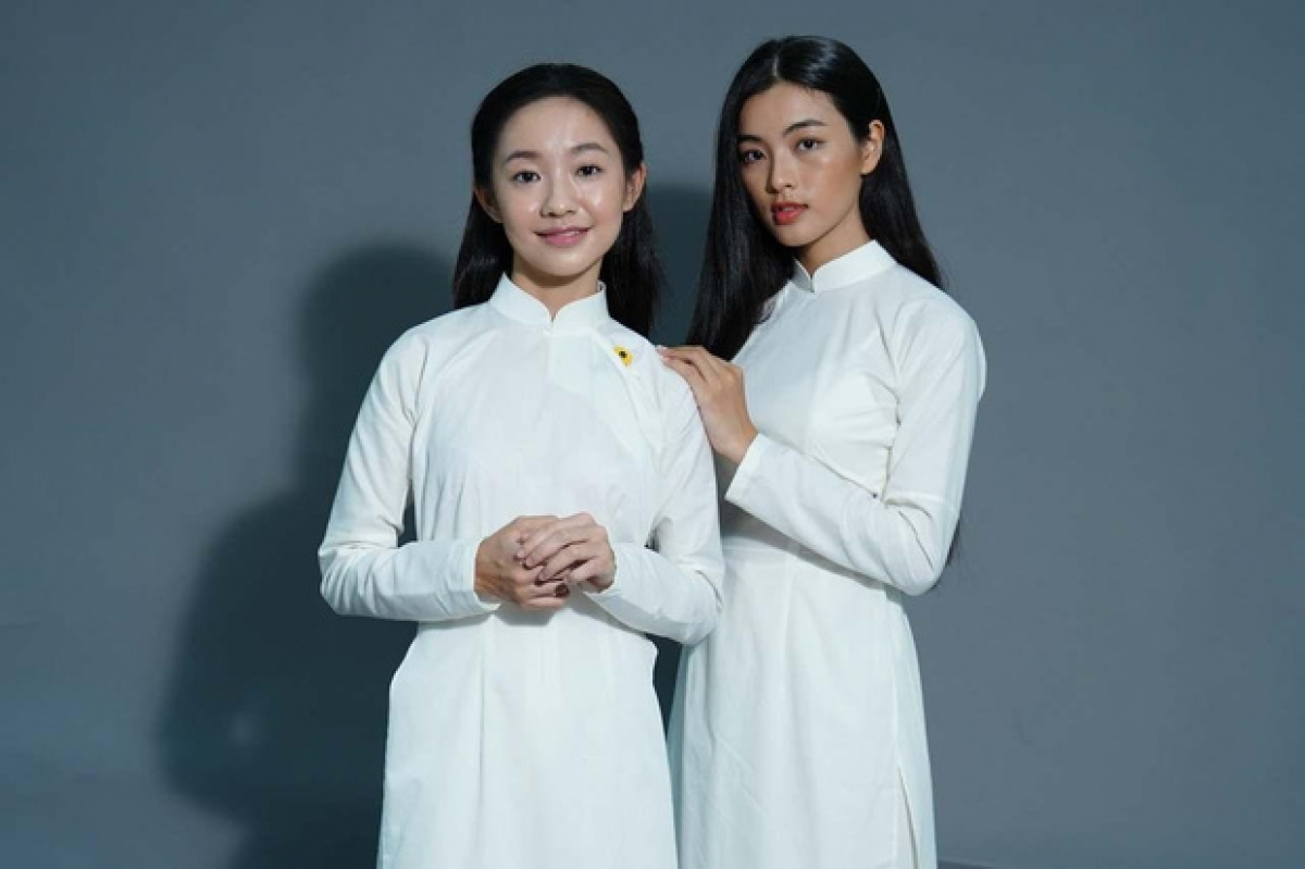 Dao Ánh (Hoàng Hà) và Bích Diễm (Lan Thy)