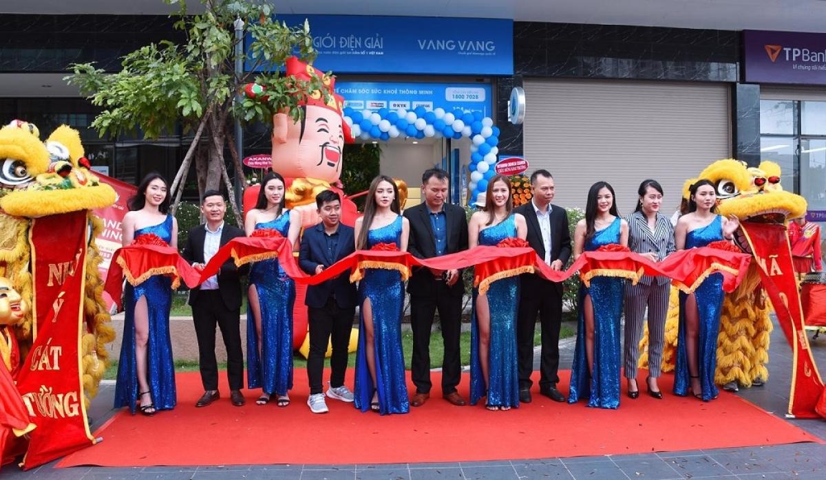 Lễ khai trương shophouse Thế Giới Điện Giải tại The Botanica Tân Bình vào sáng 2/11