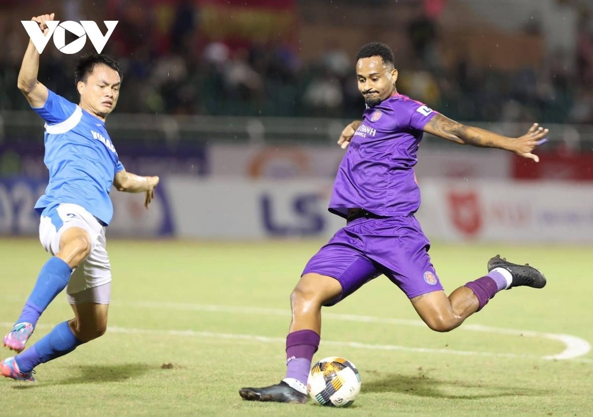 Pedro Paulo chia tay Sài Gòn FC sau mùa giải 2020. (Ảnh: Minh Hoàng).