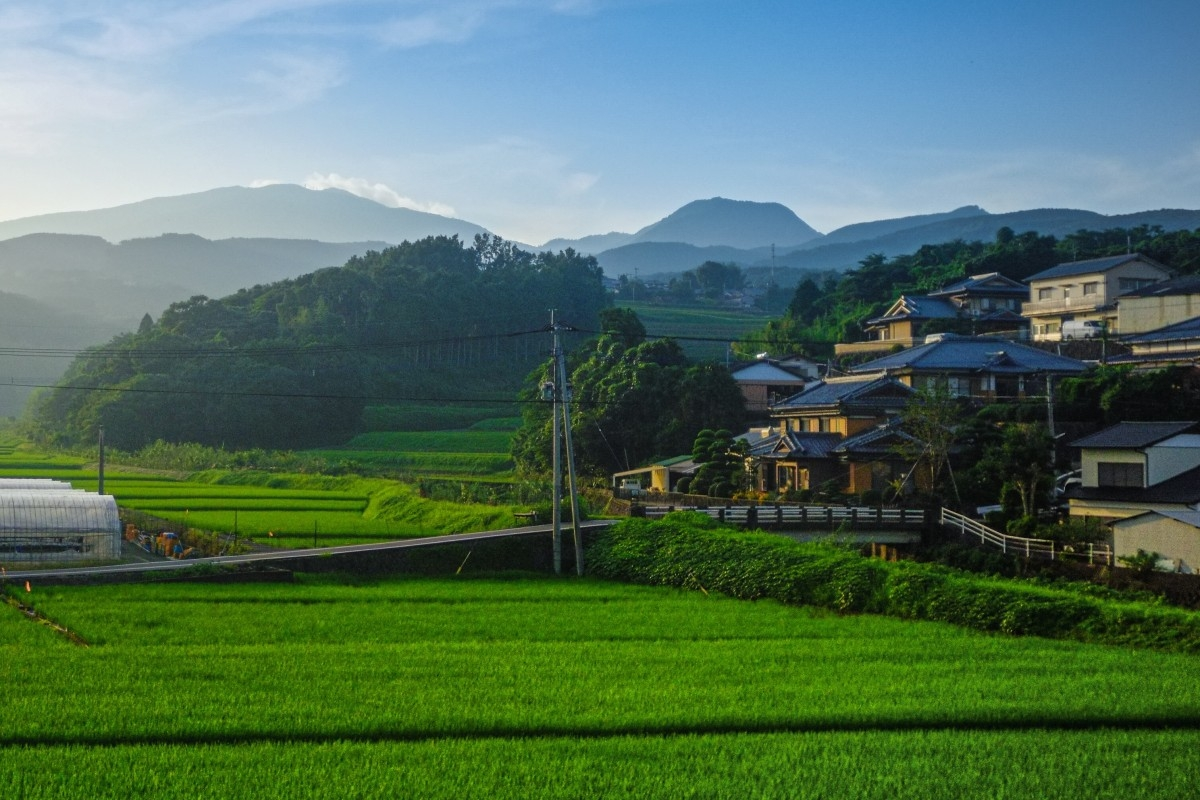 Khung cảnh yên bình tại một làng quê Nhật Bản. Ảnh: SCMP.