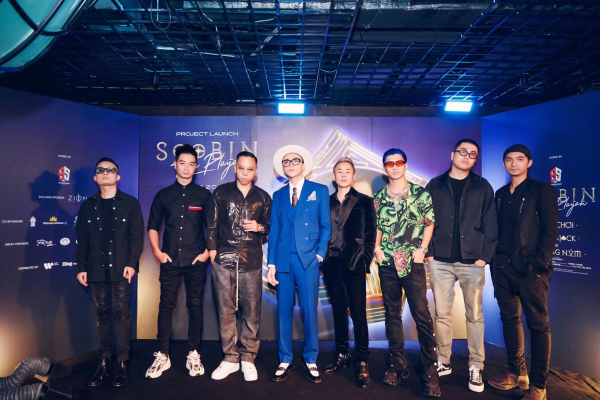 Sự kiện công bố dự án âm nhạc mới nhất của Soobin đã diễn ra vào tối 19/11 với sự góp mặt của dàn nghệ sĩ đình đám.