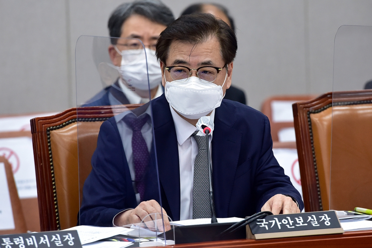 Chánh Văn phòng an ninh quốc gia Hàn Quốc Suh Hoon. Ảnh: Yonhap
