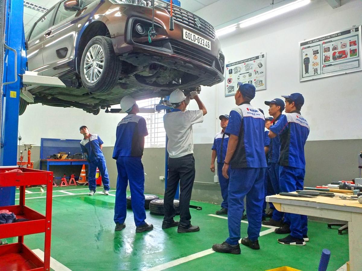 Suzuki đã xây dựng quy trình sản xuất và quản lý chất lượng đảm bảo các mẫu xe xuất xưởng đều có chất lượng và độ bền bỉ cao nhất.