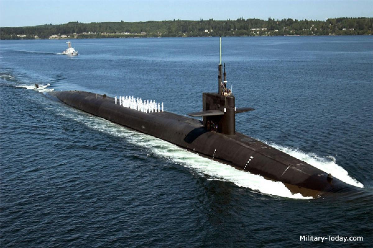 Tàu ngầm lớp Ohio. Ảnh: Military