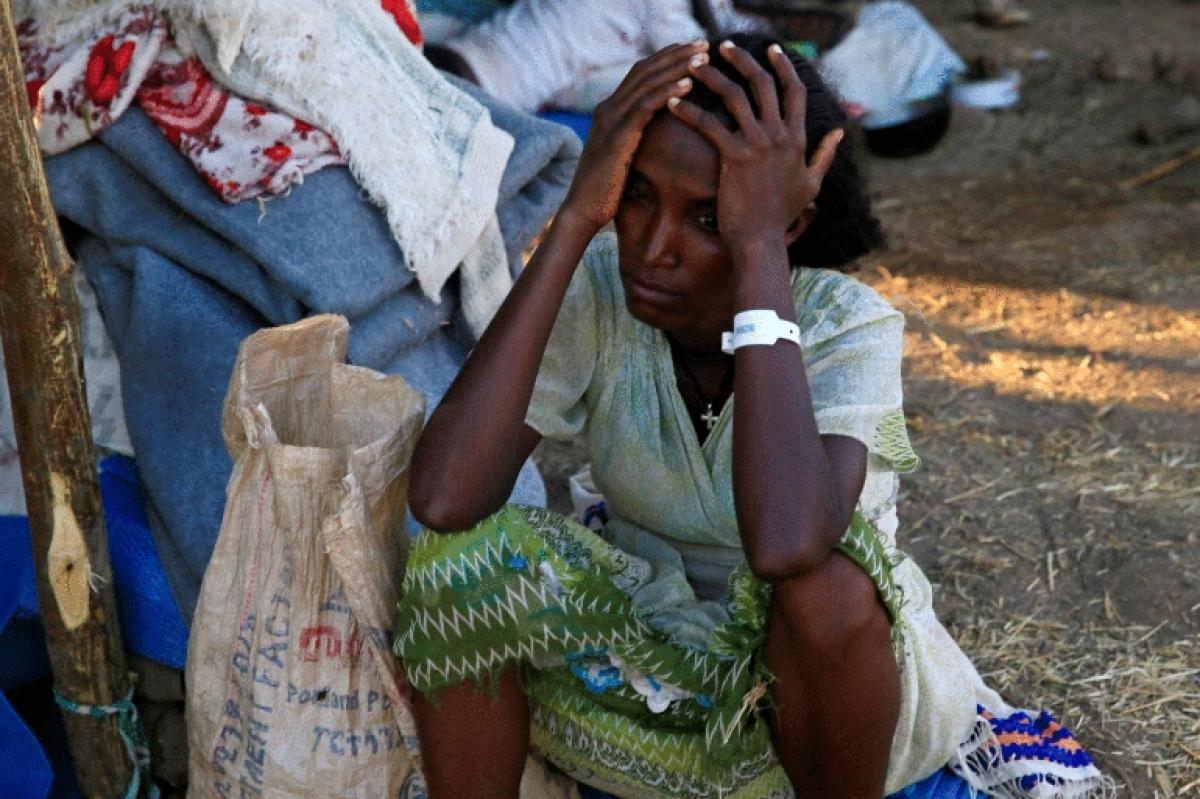 Người tị nạn Ethiopia. (Ảnh: Alzajerra)