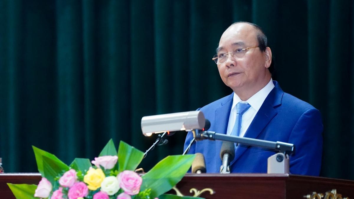 Thủ tướng phát biểu tại buổi làm việc