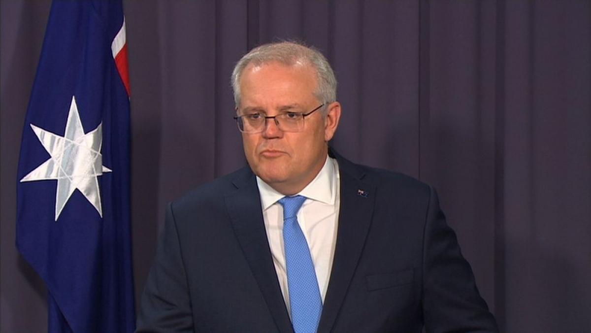 Thủ tướng Australia Scott Morrison sẽ là nhà lãnh đạo nước ngoài đầu tiên gặp mặt Thủ tướng Nhật Bản Yoshihide Suga. Nguồn: 9News.