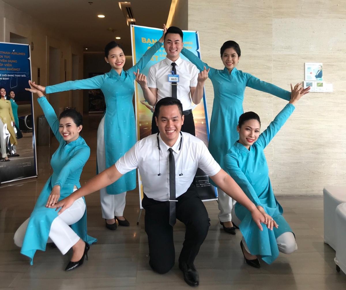 Tiếp viên hàng không Vietnam Airlines (Ảnh minh hoạ, không liên quan đến nhân vật trong bài viết)