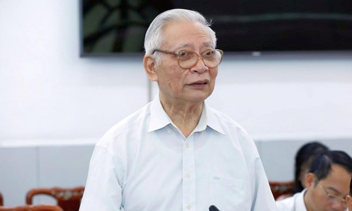 PGS.TS Trần Hậu, Ủy viên Hội đồng tư vấn khoa học giáo dục Ủy ban TW Mặt trận Tổ quốc Việt Nam.
