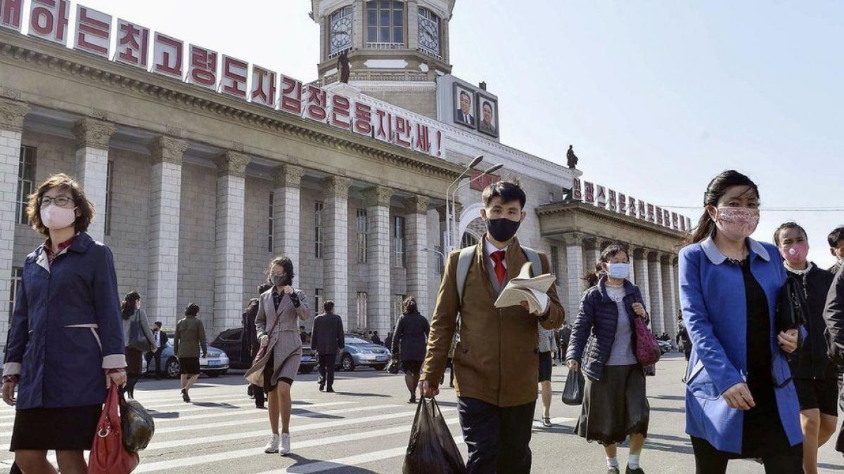 Triều Tiên đóng cửa biên giới từ đầu năm nay để ngăn chặn Covid-19. Ảnh: BBC