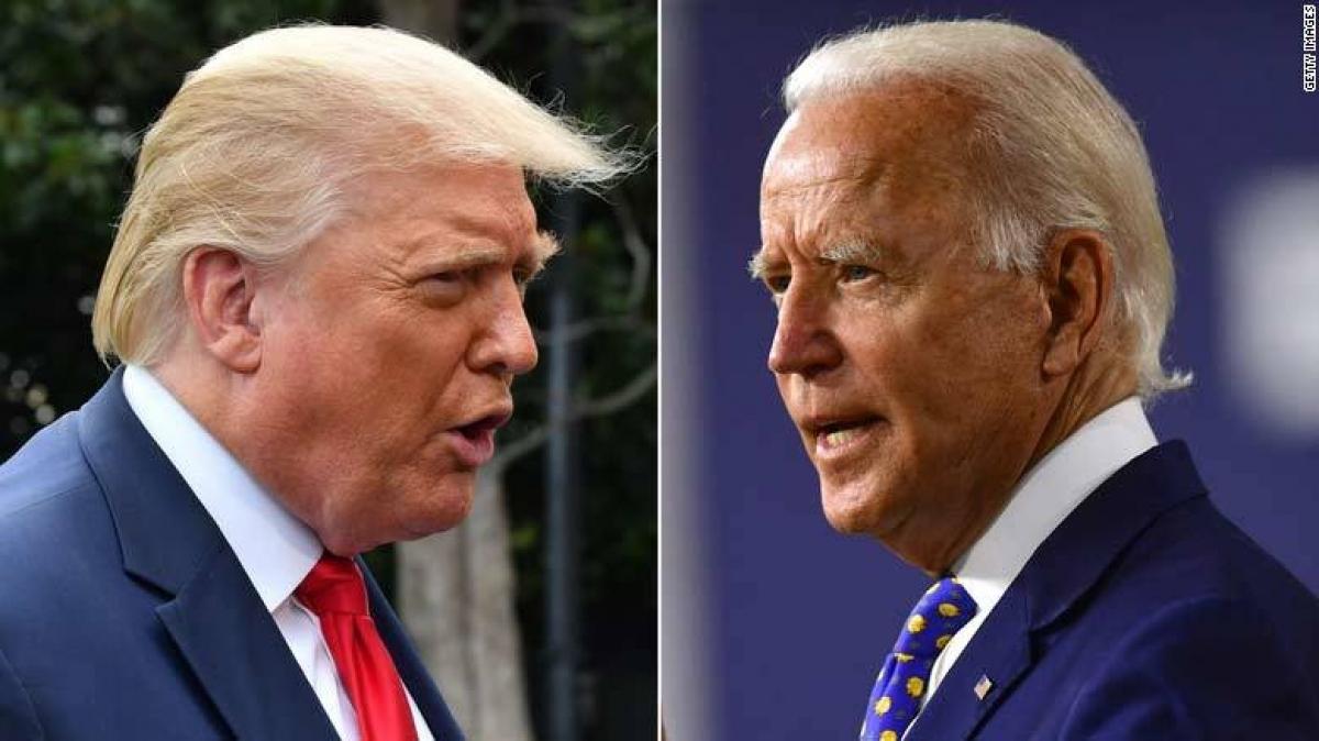 Tổng thống Donald Trump - ông Joe Biden (phải) Ảnh: Getty