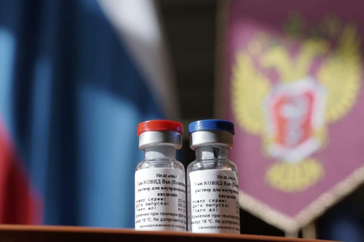 Vaccine Sputnik V. Ảnh: AFP