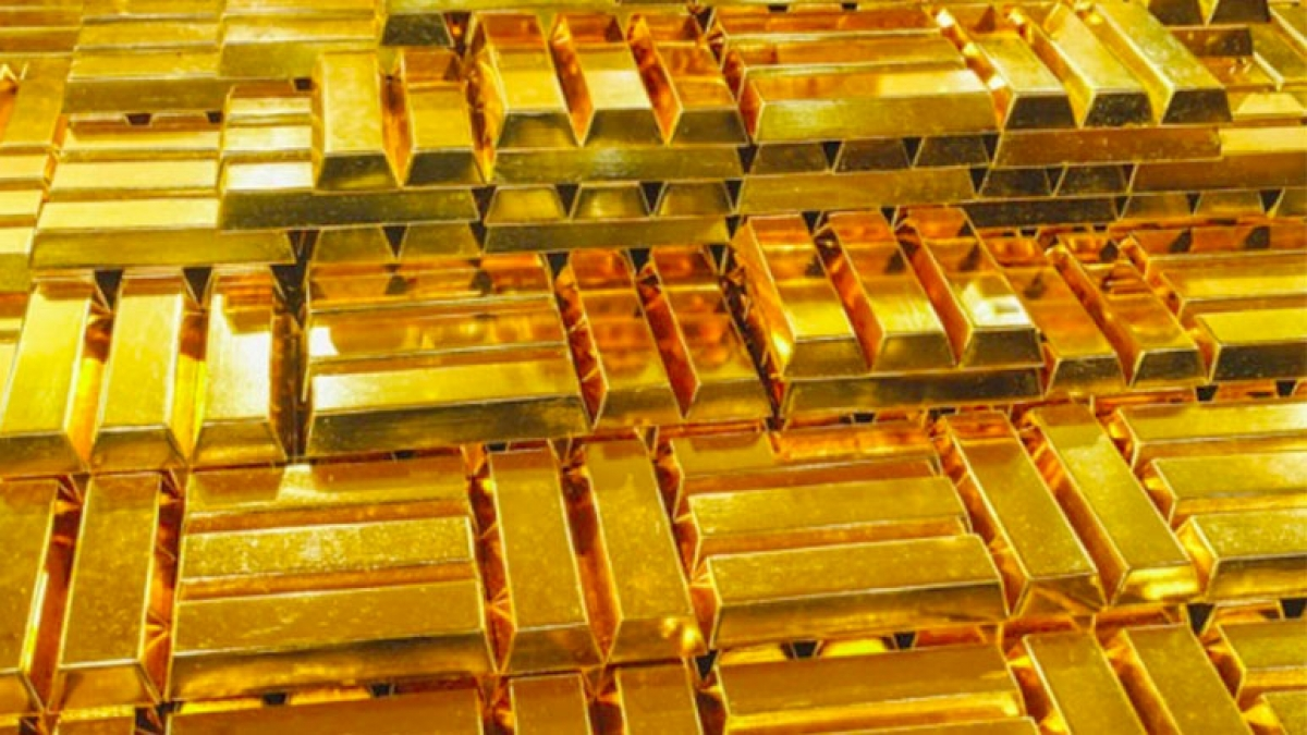 Giá vàng giảm sâu trong đêm 23/11. (Ảnh minh họa: KT)