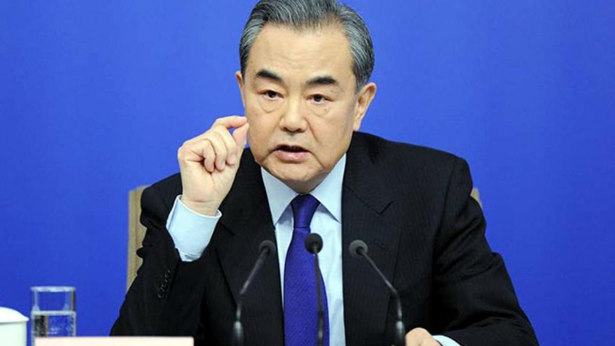 Ngoại trưởng Trung Quốc Vương Nghị. Ảnh: Tân Hoa xã.