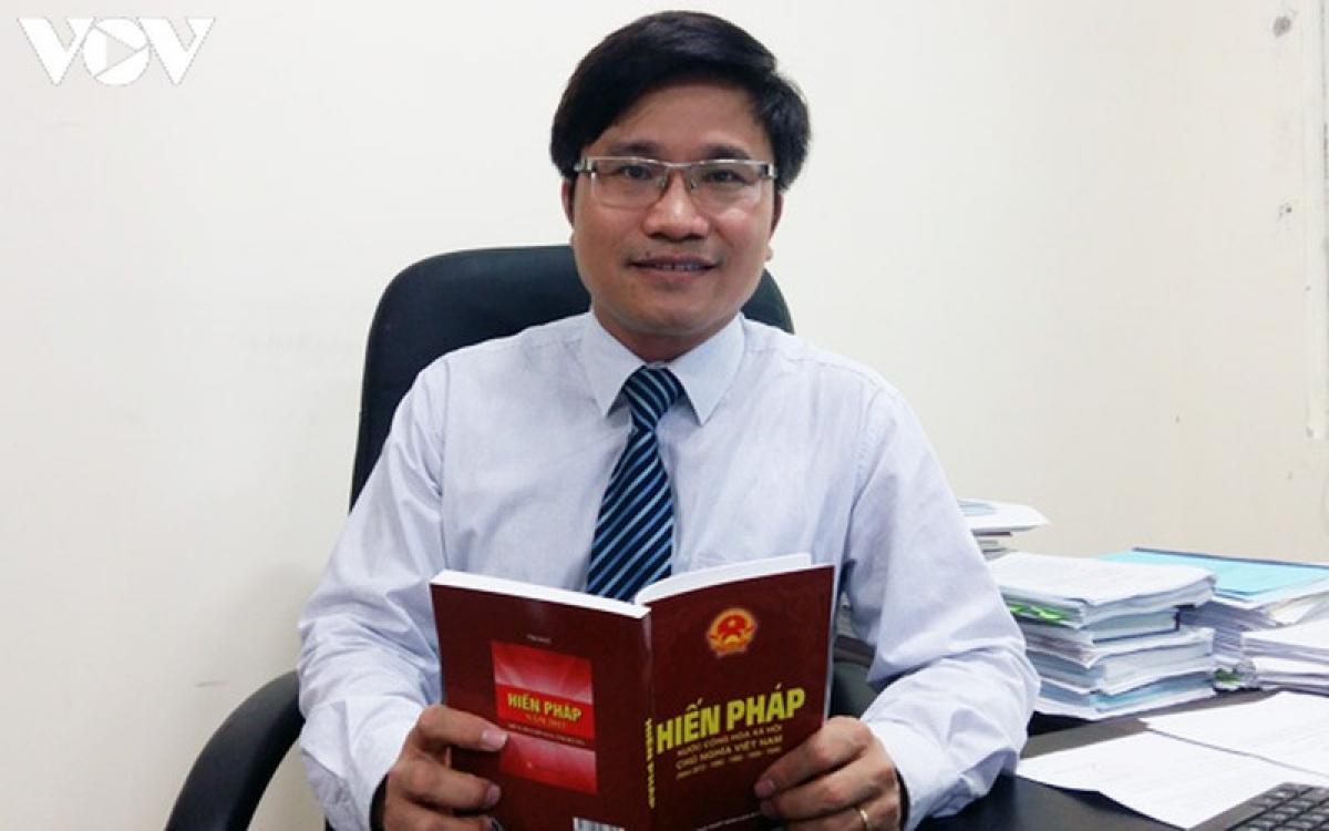 Tiến sỹ Nguyễn Văn Cương, Viện trưởng Viện Khoa học pháp lý, Bộ Tư pháp.