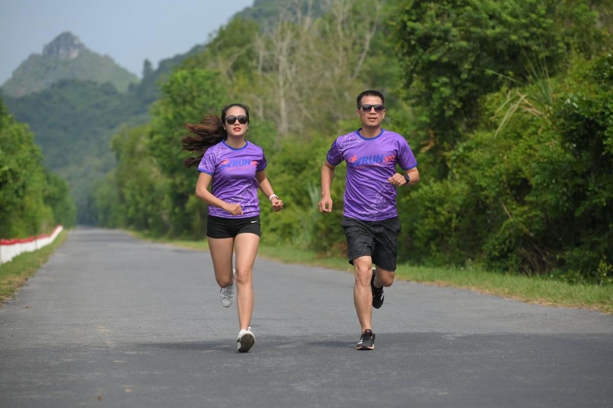 Mô hình chạy trực tuyến được áp dụng tại giải VITM marathon 2020.