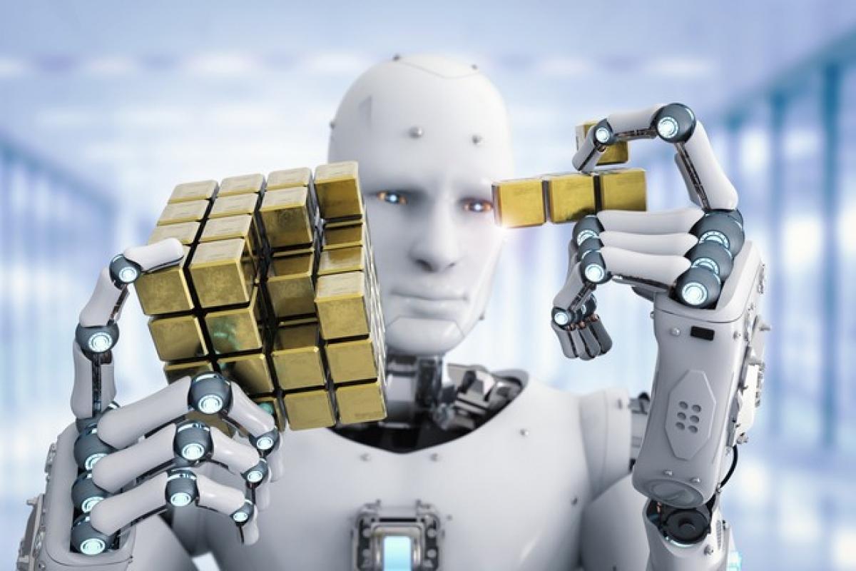 Trí tuệ nhân tạo có khả năng tự học gần như tương đương với con người - Ảnh: Shutterstock