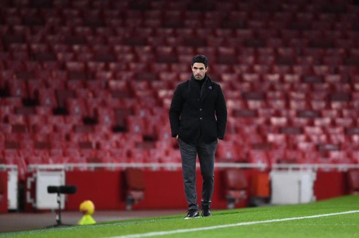 Trận cầu tâm điểm Arsenal - Man City hôm nay có thể là cơ hội cuối cho HLV Arteta tại sân Emirates. (Ảnh: Getty).