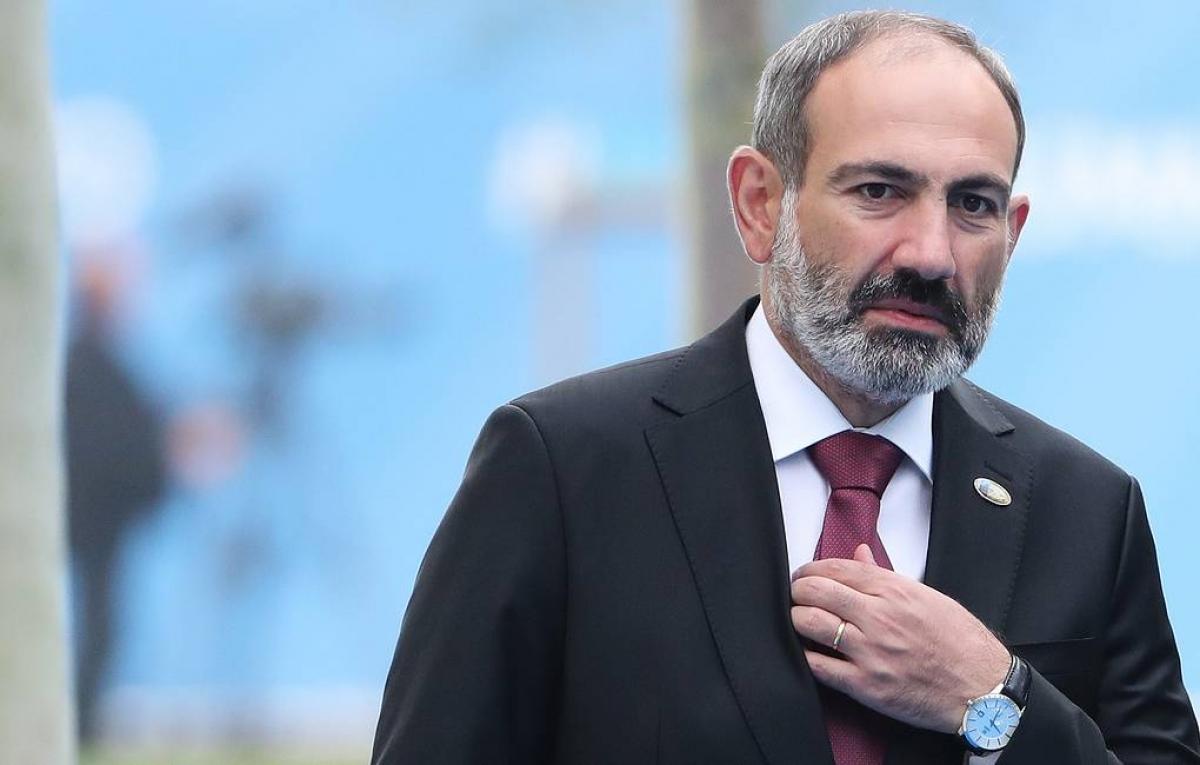 Thủ tướng Armenia Nikol Pashinyan