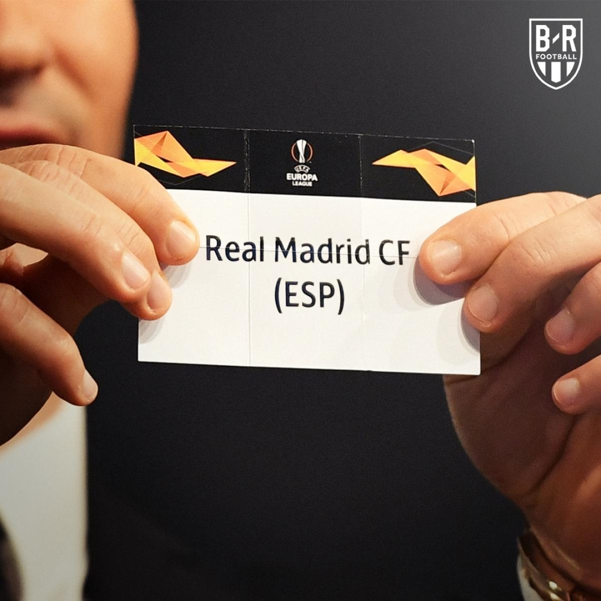 Real Madrid đứng trước nguy rơi xuống Europa League. (Ảnh: Bleacher Reports)