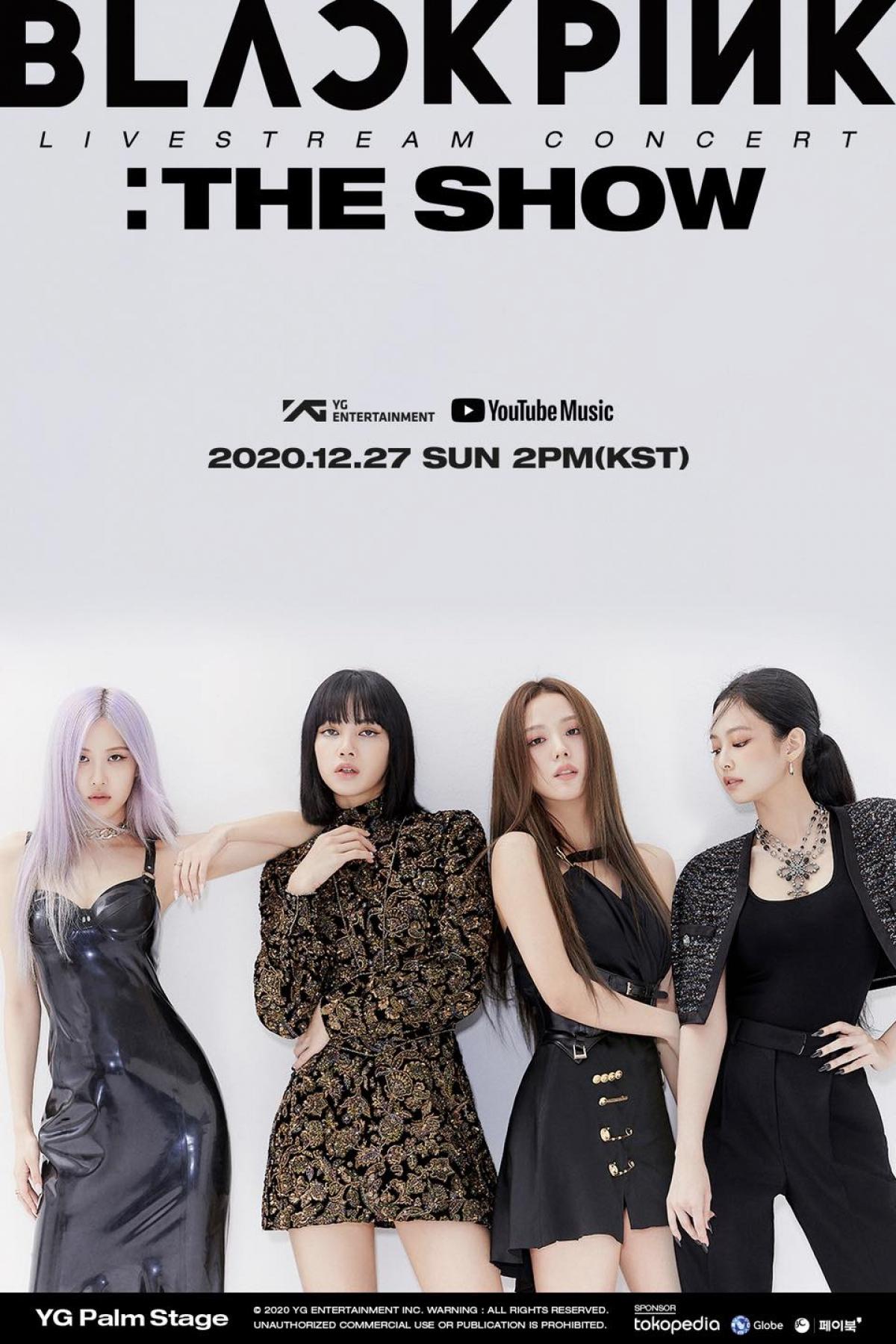 """BLACKPINK tổ chức concert trực tuyến mang tên """"The Show""""."""