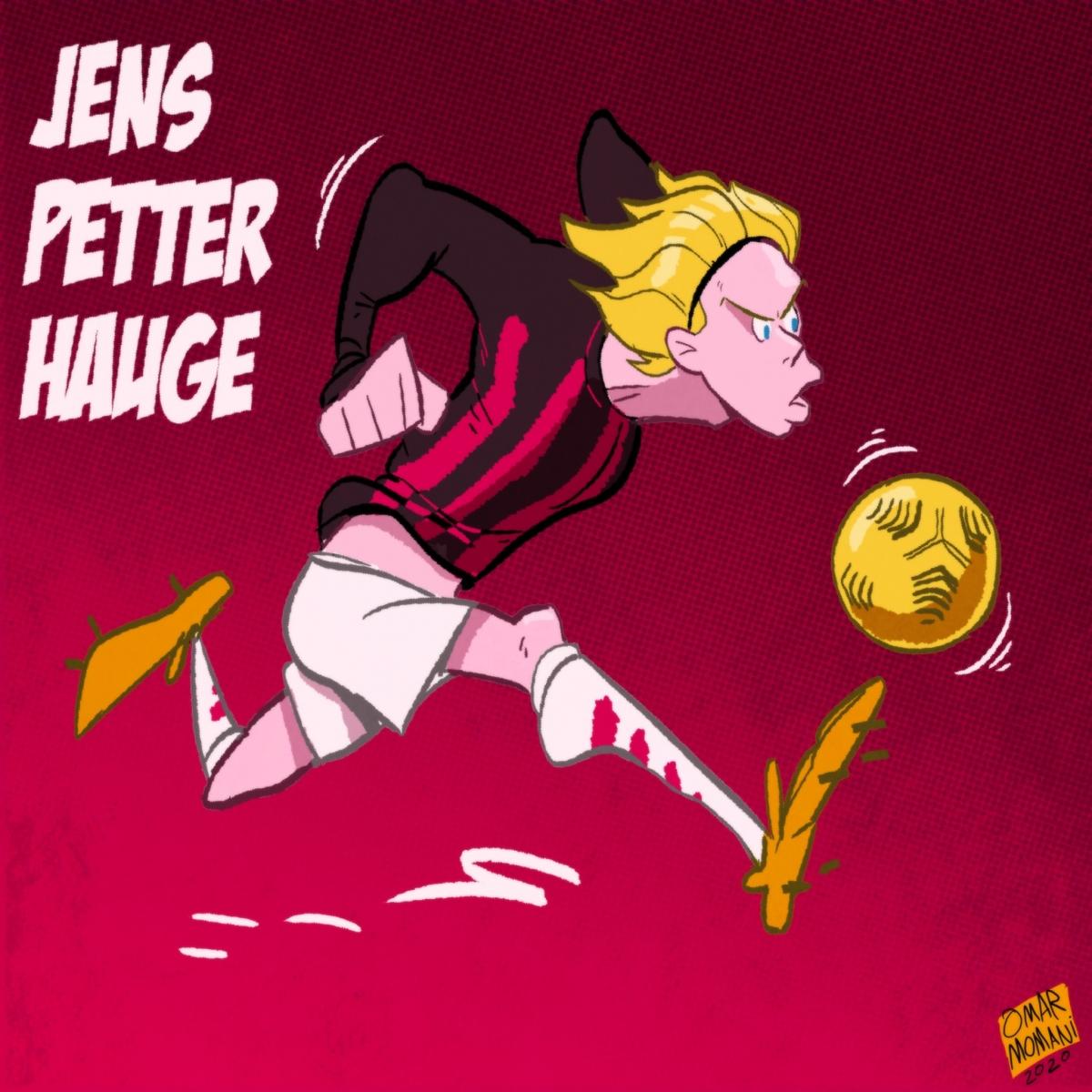 Petter Hauge - Tài năng trẻ của AC Milan. (Ảnh: Omar Momani)