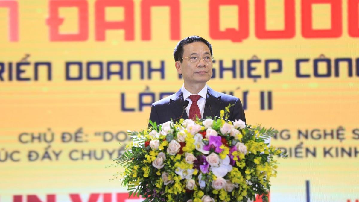 Ông Nguyễn Mạnh Hùng, Bộ trưởng Bộ Thông tin và Truyền thông