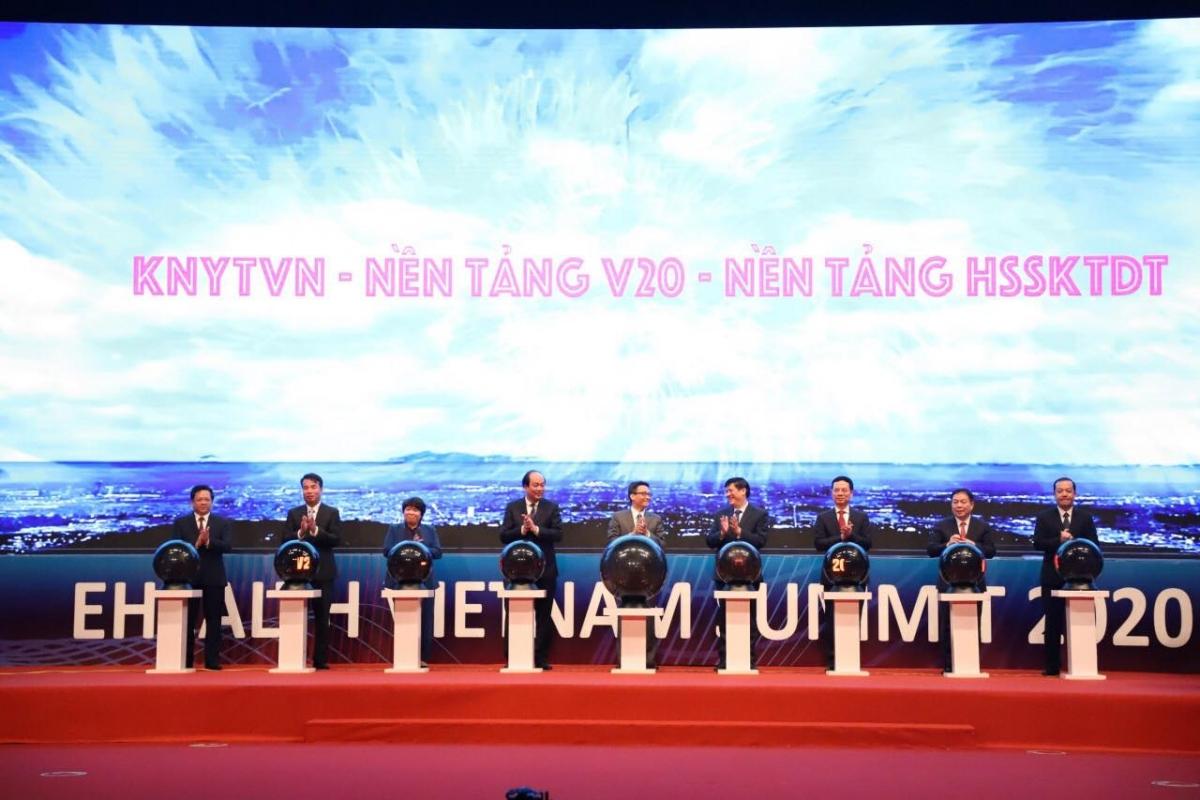 Hội nghị Chuyển đổi số y tế Quốc gia diễn ra sáng 30/12 tại Hà Nội.