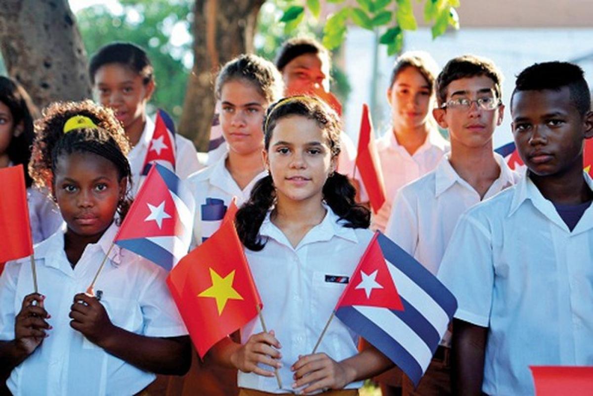 Quan hệ Việt Nam - Cuba luôn được nuôi dưỡng và phát triển. Ảnh: VGP