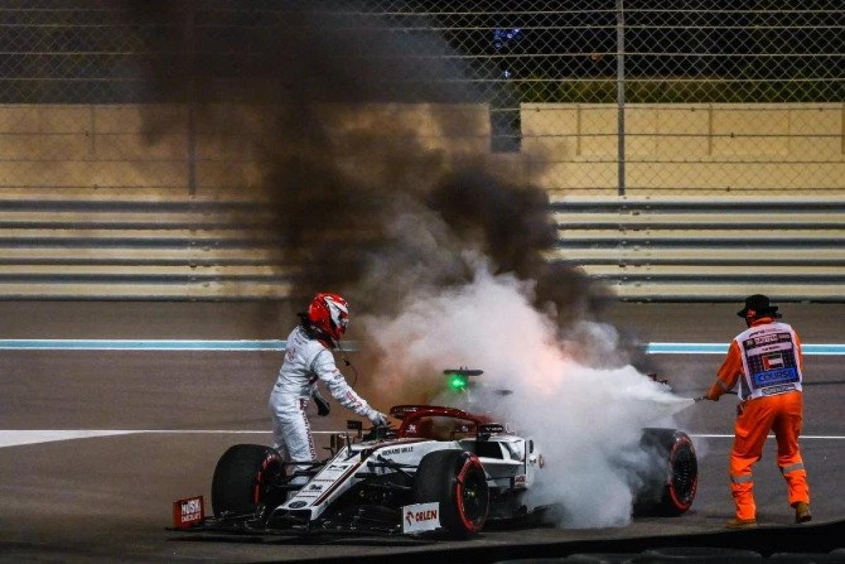 Kimi Raikkonen chia sẻ sau sự cố rằng không có gì phải sợ hãi khi chứng kiến cảnh tượng như vậy.