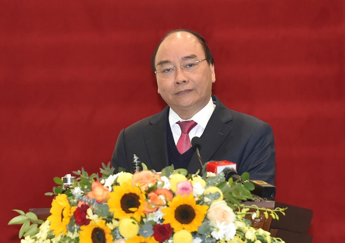 """Thủ tướng Nguyễn Xuân Phúc: Xây dựng TAND xứng đáng trở thành """"Thành trì bảo vệ công lý"""" - Ảnh: VGP/Quang Hiếu"""