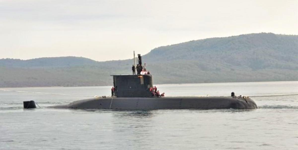 Tàu ngầm Alugoro của Hải quân Indonesia. Nguồn: navalnews.com.