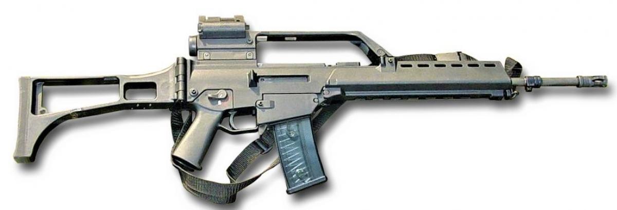 Súng G36 có trong trang bị của Quân đội Đức từ những năm 1950. Nguồn: wikipedia.org