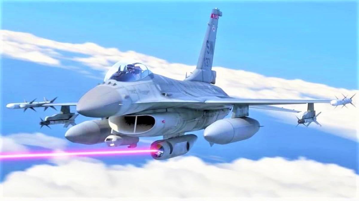 Không quân Mỹ đang có dự án tích hợp container laser cho máy bay chiến thuật. Nguồn: topwar.ru