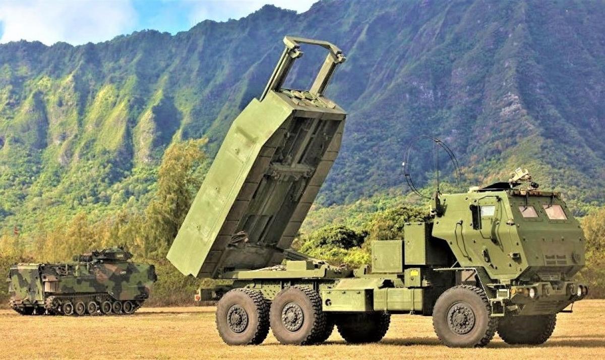 Hệ thống tên lửa phóng loạt chiến thuật hạng nhẹ M142. Nguồn: sputniknews.com
