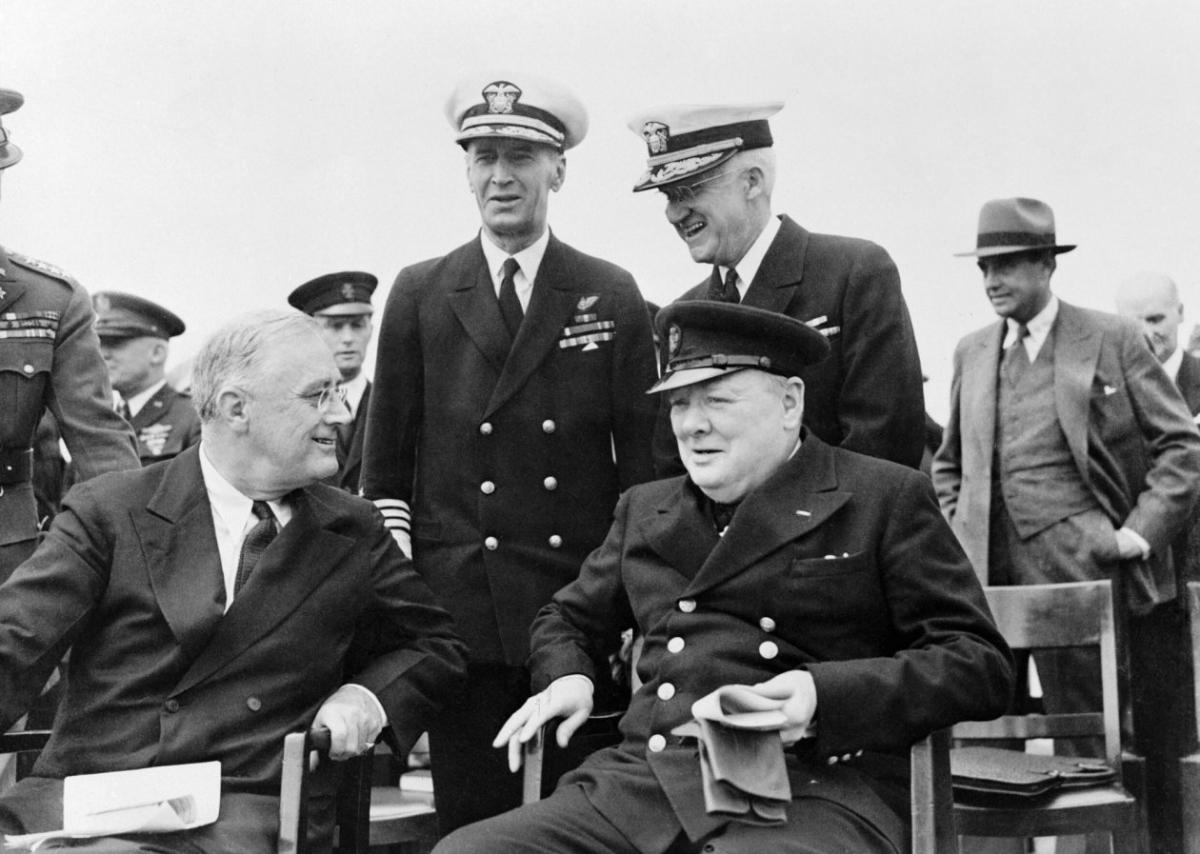 Ý đồ tấn công Nhật Bản của Mỹ cũng được thúc đẩy rất nhiệt tình bởi đồng minh Anh; Nguồn: NI