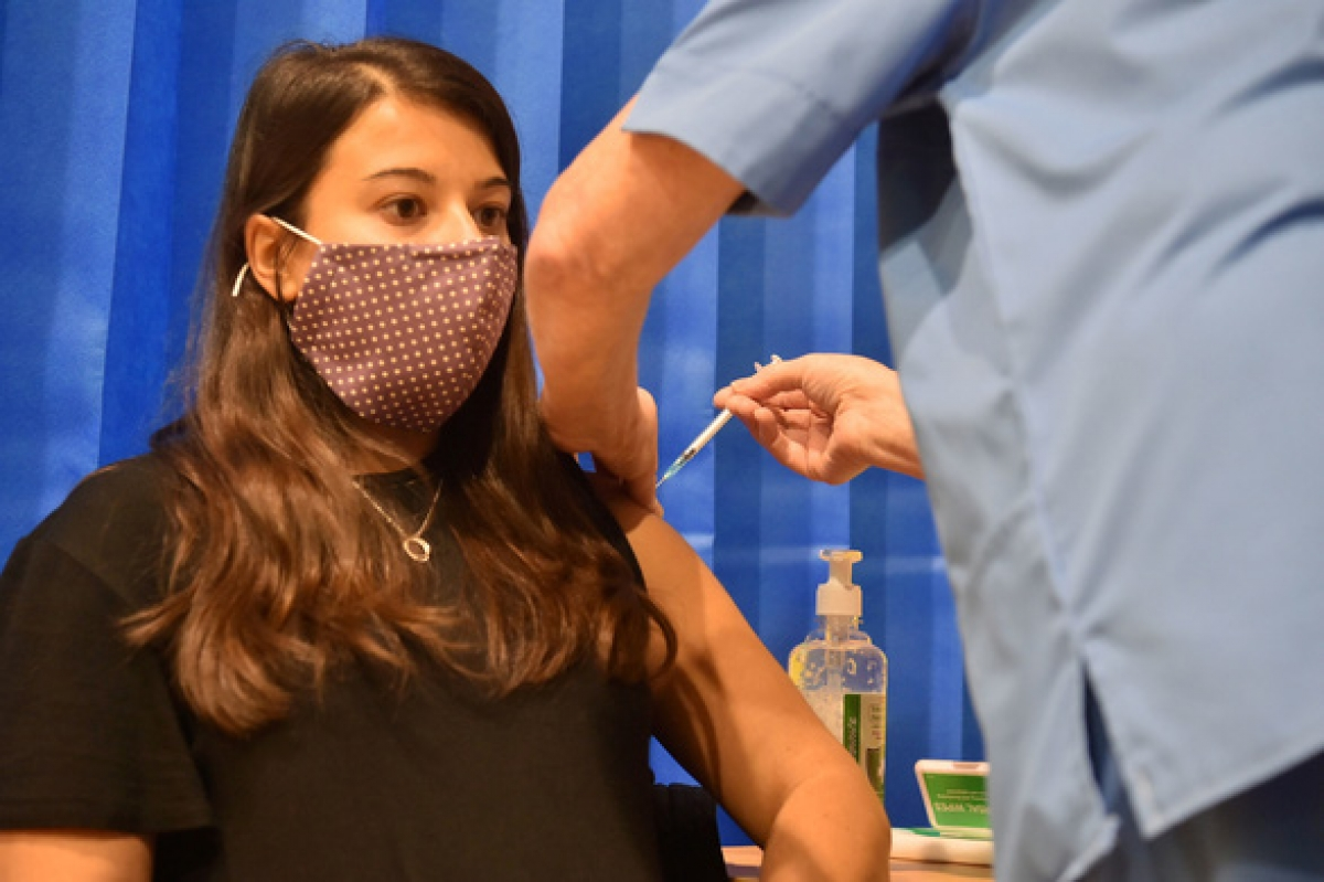 Vaccine của Pfizer/BioNTech được tiêm đại trà tại Anh từ ngày 8/12. (Ảnh: Reuters)