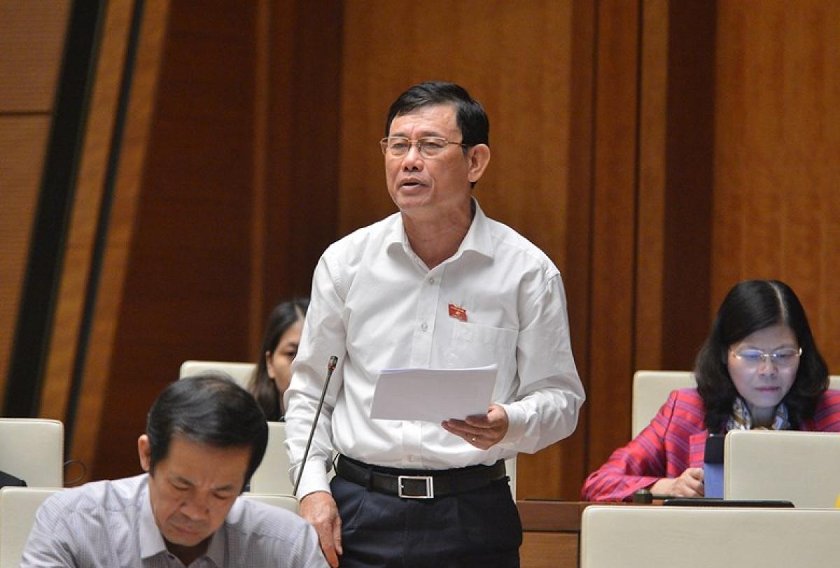 Đại biểu Nguyễn Ngọc Phương, Đoàn đại biểu Quốc hội tỉnh Quảng Bình (Ảnh: Quốc hội)