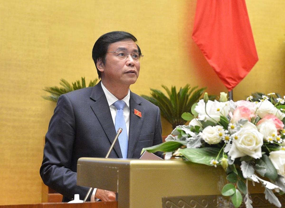 Tổng Thư ký Quốc hội, Chủ nhiệm Văn phòng Quốc hội Nguyễn Hạnh Phúc (Ảnh: Quốc hội)