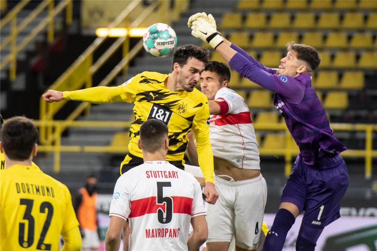 Dù vậy, những tình huống tấn công cuối cùng của Dortmund không cho thấy sự chuẩn xác.