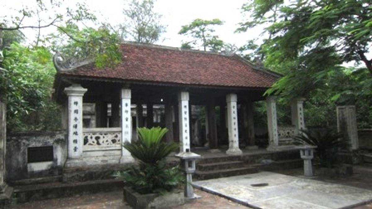 Đền thờ Xuân Quận công Nguyễn Nghiễm.