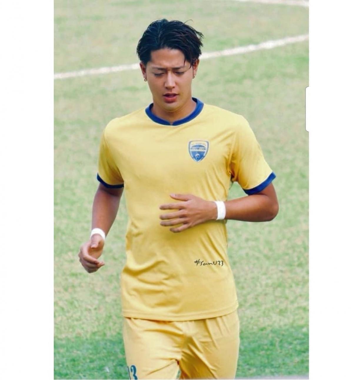 """Ryutaro Karube sinh ngày 19/12/1992, sở hữu chiều cao 1m88 và từng """"gây sốt"""" khi khoác áo Thanh Hóa ở mùa giải 2018."""
