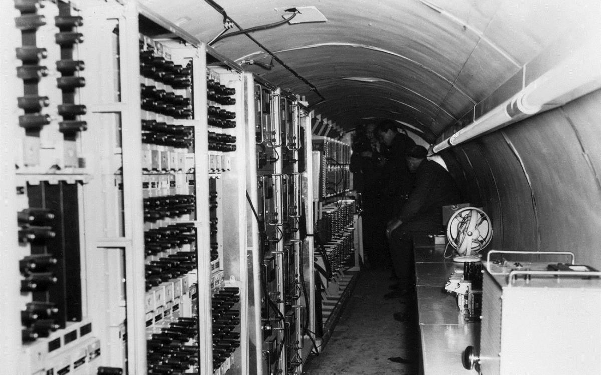 Đường hầm bí mật dưới lòng đất Berlin bị Liên Xô phát hiện. Ảnh: Global Look Press.