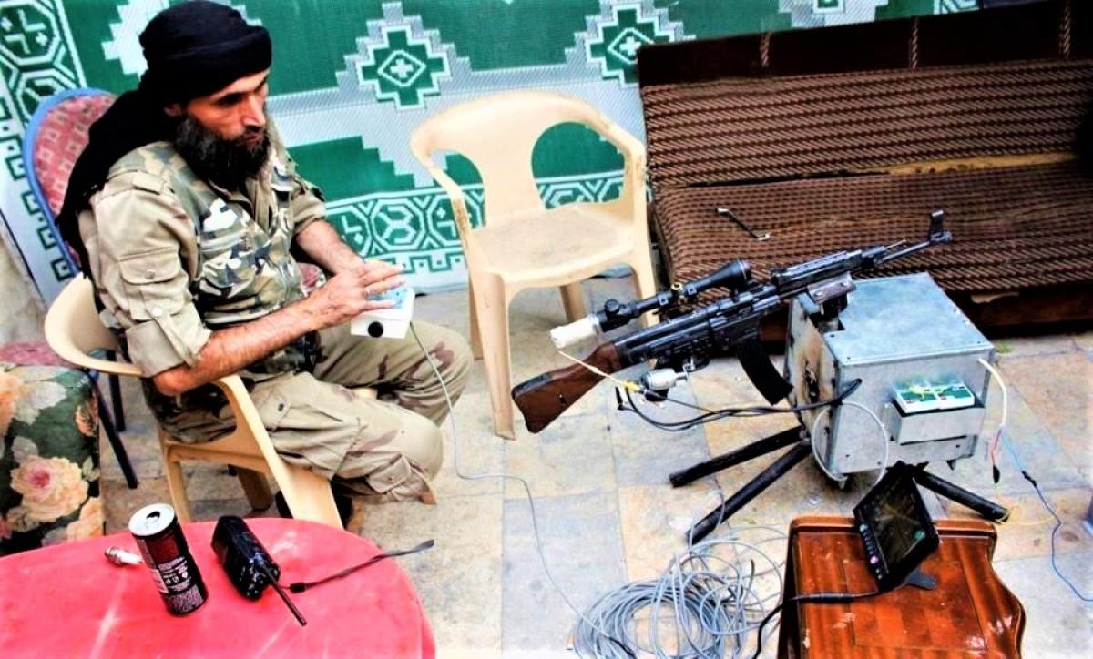 Vũ khí điều khiển từ xa và robot ngày càng trở nên phổ biến đối với những kẻ khủng bố và phiến quân. Nguồn: forbes.com