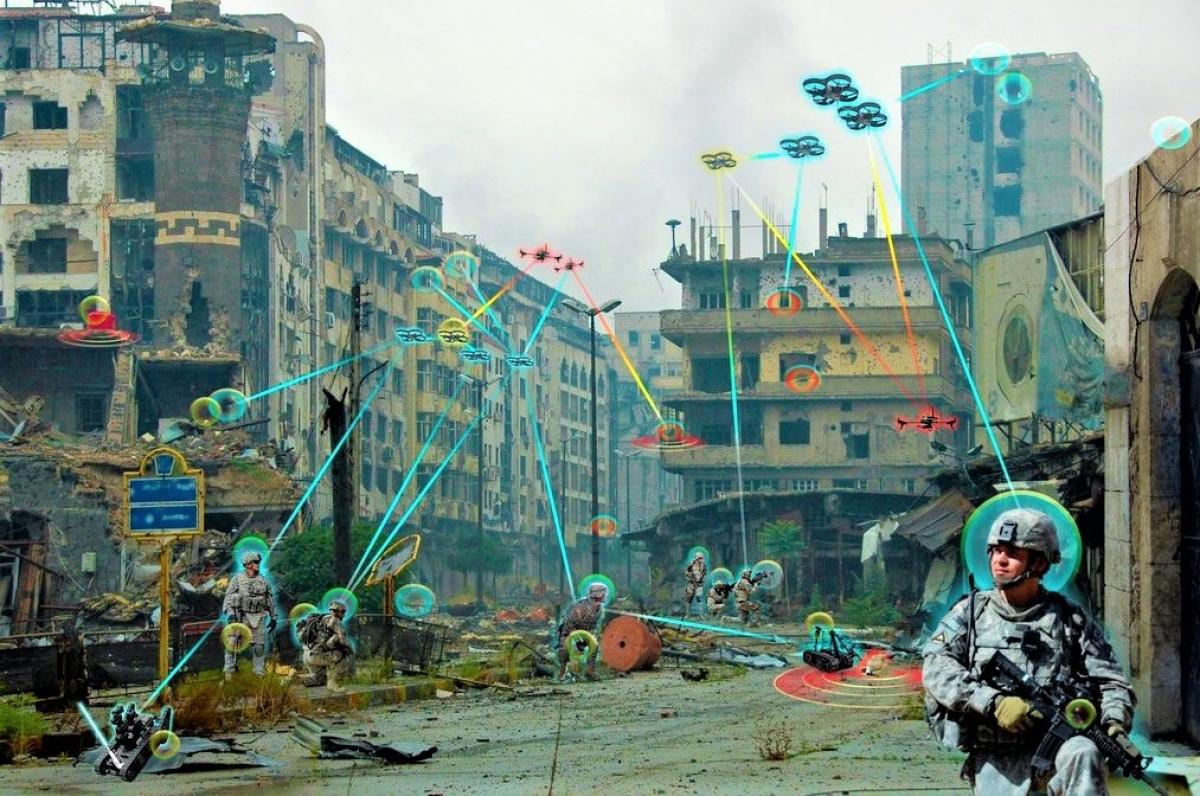 Cuộc chạy đua Internet vạn vật quân sự đang diễn ra rất sôi động; Nguồn: wikipedia.org