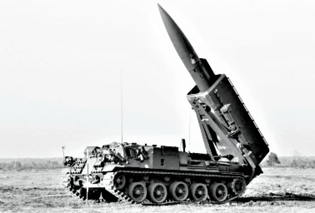Tên lửa hạt nhân chiến thuật Pluton của Pháp. Nguồn: francetnp.gouv.fr