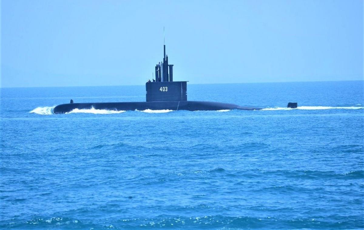 Tàu ngầm Nagapasa của Hải quân Indonesia; Nguồn: wikimedia.org