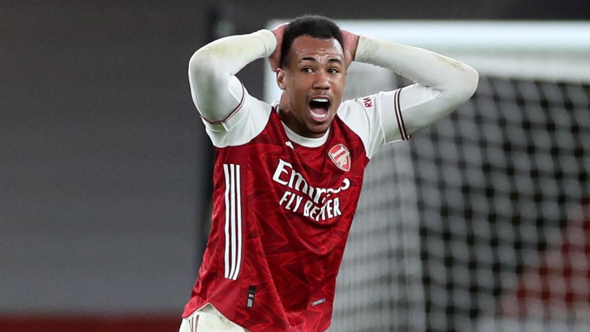 Tấm thẻ đỏ của Gabriel là tấm thẻ đỏ thứ 3 mà Arsenal phải nhận trong 5 vòng gần nhất tại Premier League.