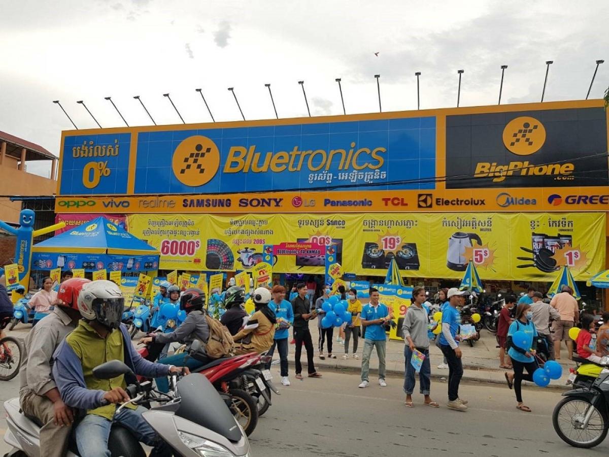 Bluetronics trở thành địa chỉ mua sắm hàng điện máy chất lượng, xuất xứ rõ ràng cho người dân Campuchia.
